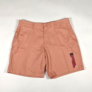 Foundry Flex Flat Front Size 44 Muted Clay Shorts